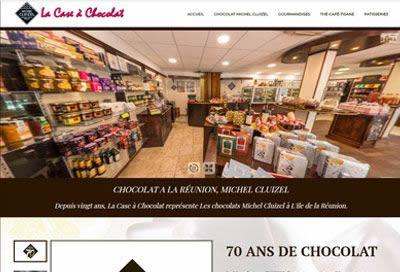 Création de site pour Chocolatier à la Réunion