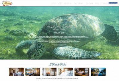 Création de site pour Hôtel à Mayotte