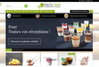 Création de site web pour emballage recyclable à la Réunion