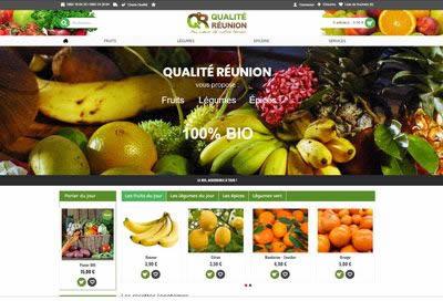 Création de site E-commerce Agriculture Bio à la Réunion