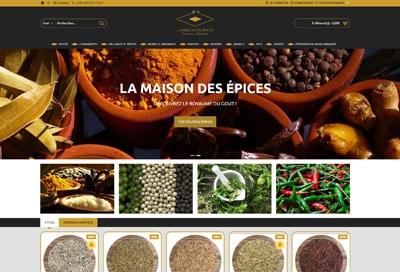 Création de site  e-commerce Réunion