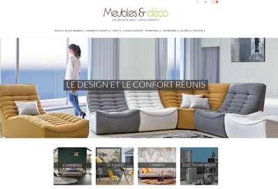 Création de site E-commerce Meuble